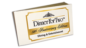 Dinner For Two Dining Book